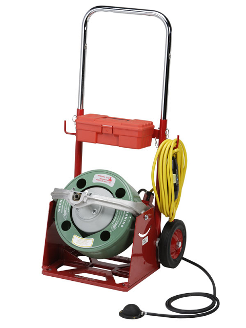 Electro-Mechanical drain rodding equipment