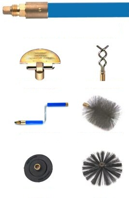 Basic Lockfast drain rodding equipment